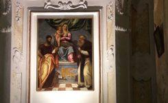 Restauro  tela Pala della Madonna di Costantinopoli