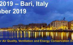 X IAQVEC 2019 – Bari