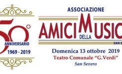 """50° Anniversario degli """"AMICI DELLA MUSICA"""""""