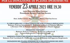 CAMPI: CAMPAGNA DI INFORMAZIONE PER LA DONAZIONE DI PLASMA IPERIMMUNE